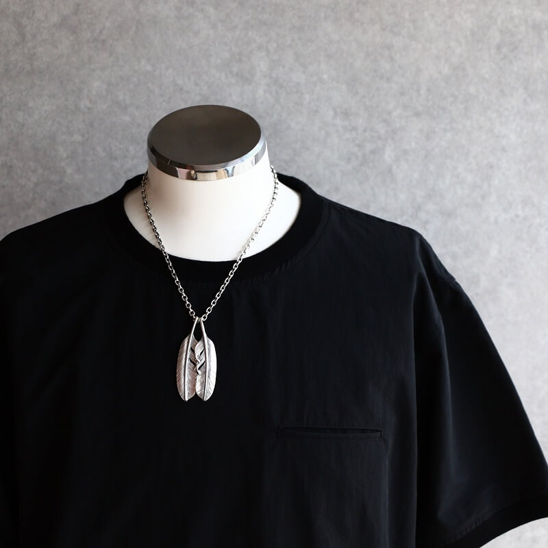 hemlock ヘムロック Feather Top M フェザートップ M ネックレス