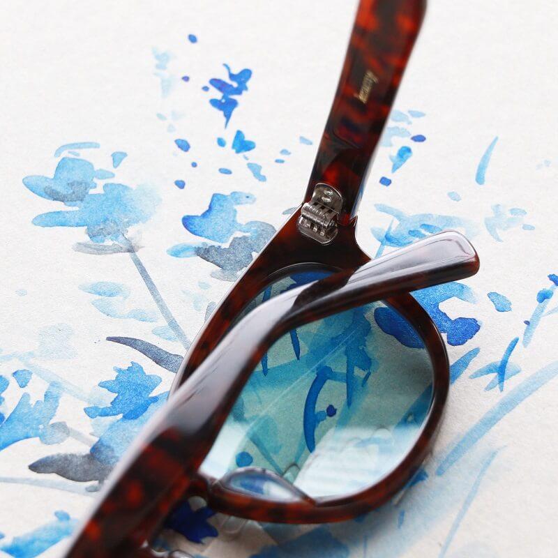 kearny カーニー wellington ウェリントン セルロイド眼鏡 サングラス Chocolate demi