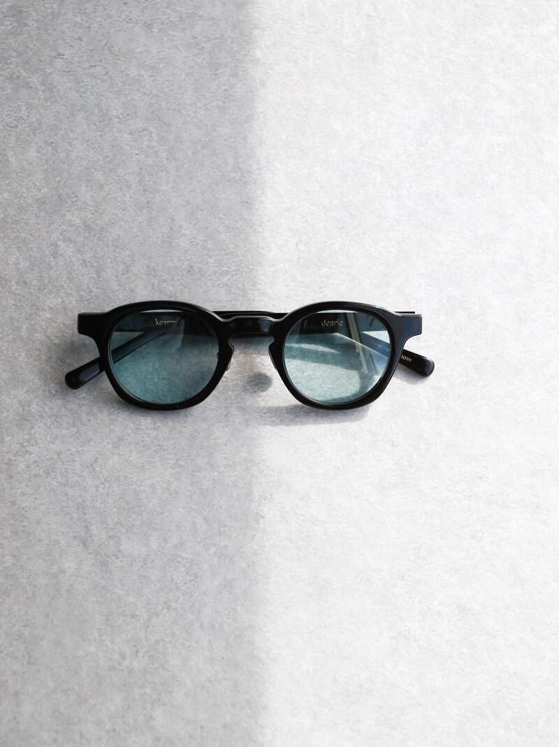 kearny カーニー dearie ディアリー セルロイド眼鏡 サングラス Black