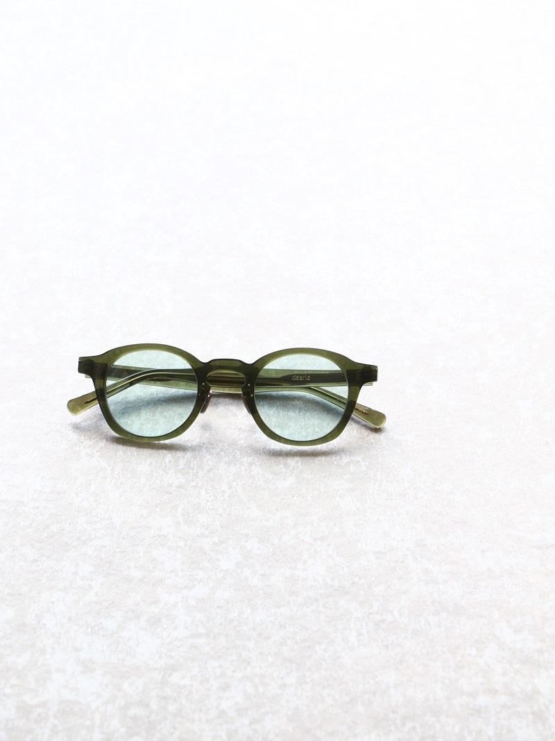 kearny カーニー dearie ディアリー セルロイド眼鏡 サングラス Clear Green