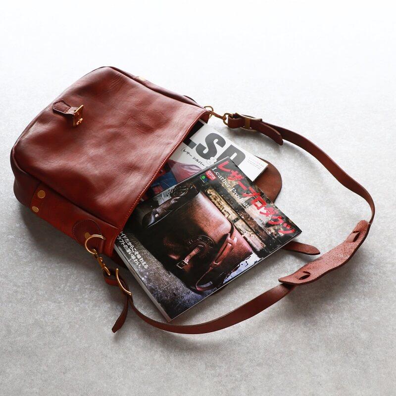 vasco ヴァスコ LEATHER POSTMAN SHOULDER BAG REGULAR レザーポストマンショルダーバッグ レギュラー 刻印ナシ VS-247L