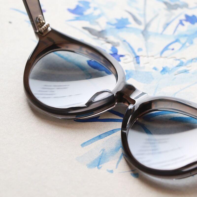 kearny カーニー JAZZ II ジャズ II セルロイド眼鏡 Clear Grey