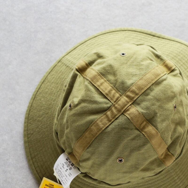 Buzz Rickson's バズリクソンズ HATS,HERRINGBONE TWILL HAT HBT アーミーハット BR02667