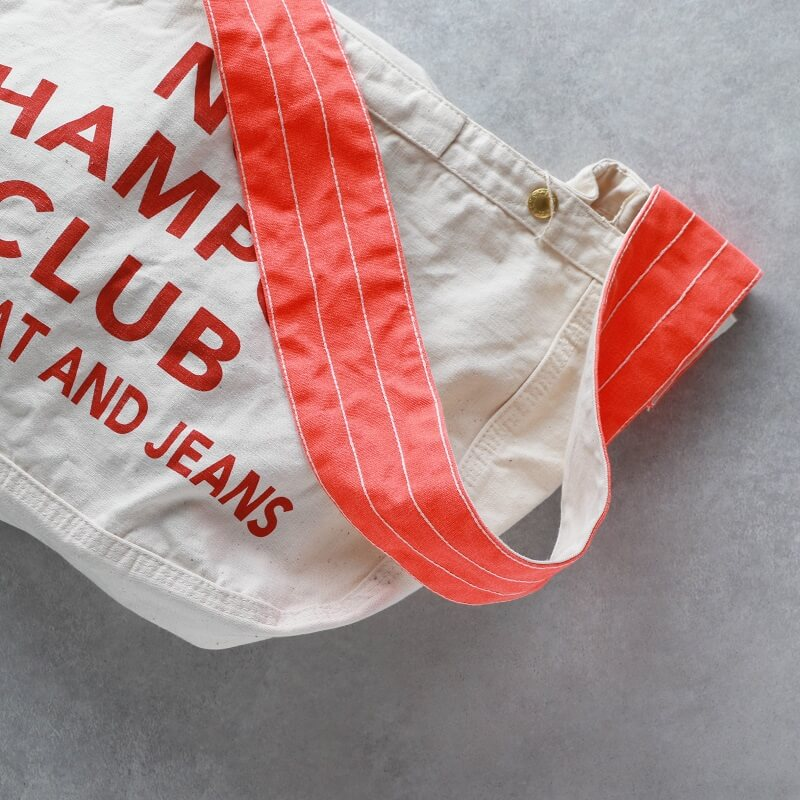 TCB jeans TCBジーンズ Brand-News Paper Bag プリント ニュースペーパーバッグ