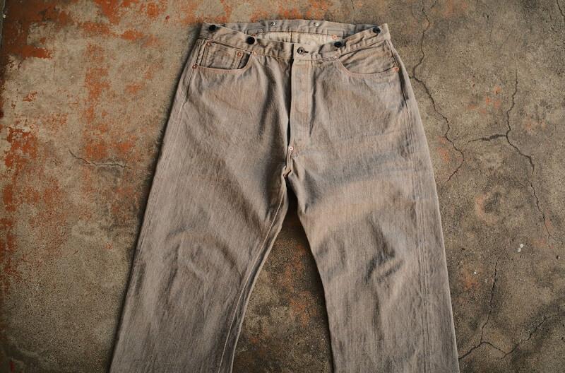 TCB jeans TCBジーンズ Two Cat's Waist Overall Logwood Brown ウエストオーバーオール ログウッドブラウン