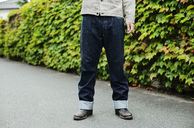 TCB jeans TCBジーンズ Two Cat's Waist Overall Natural Indigo ウエストオーバーオール ナチュラルインディゴ