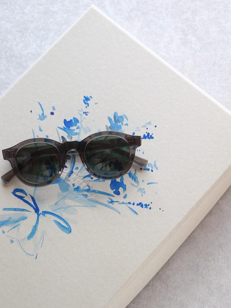 kearny カーニー darsena ダルセナ セルロイド眼鏡 Clear Gray