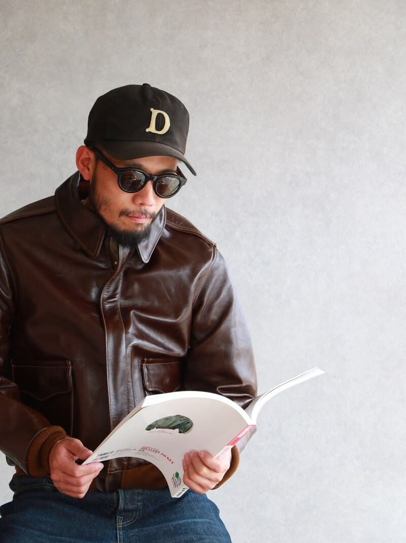 Buzz Rickson's バズリクソンズ Flight Jacket type A-2 Roughwear Clothing Co. A-2 フライトジャケット BR80593