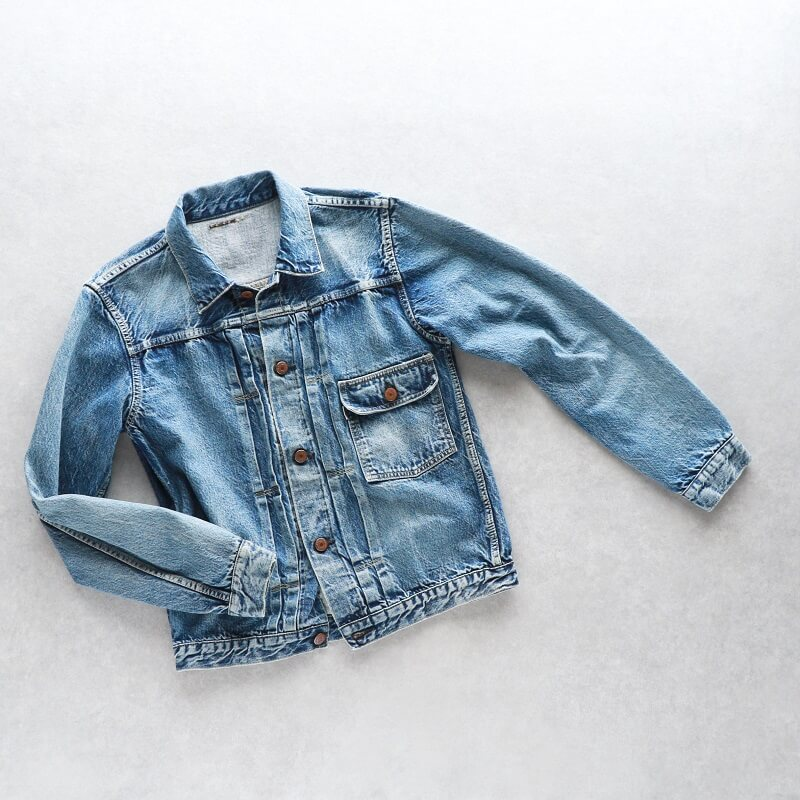 TCB jeans TCBジーンズ 別注 TCB 30's Jacket Aging Model デニムジャケット 1st エイジングモデル