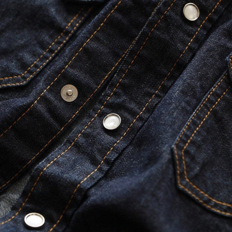 TCB jeans TCBジーンズ TCB RANCHMAN Shirt DENIM ランチマンウエスタンシャツ デニム