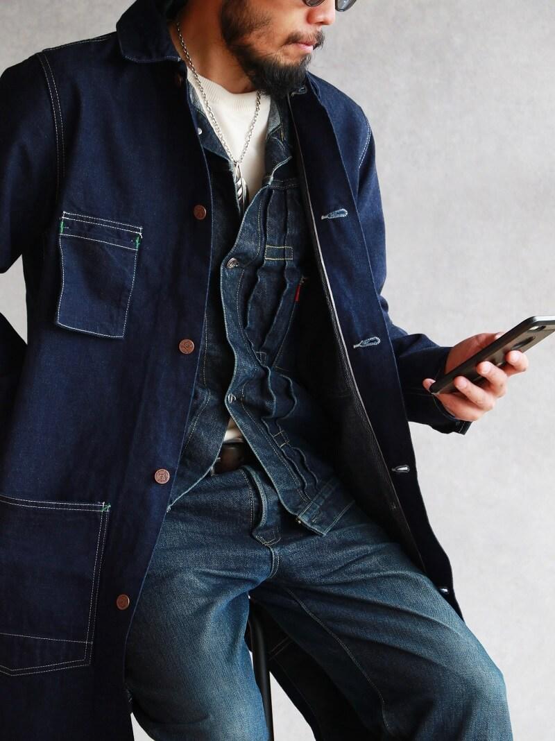 TCB jeans TCBジーンズ Tabby's Coat Selvedge Covert DENIM タビーズコート デニム