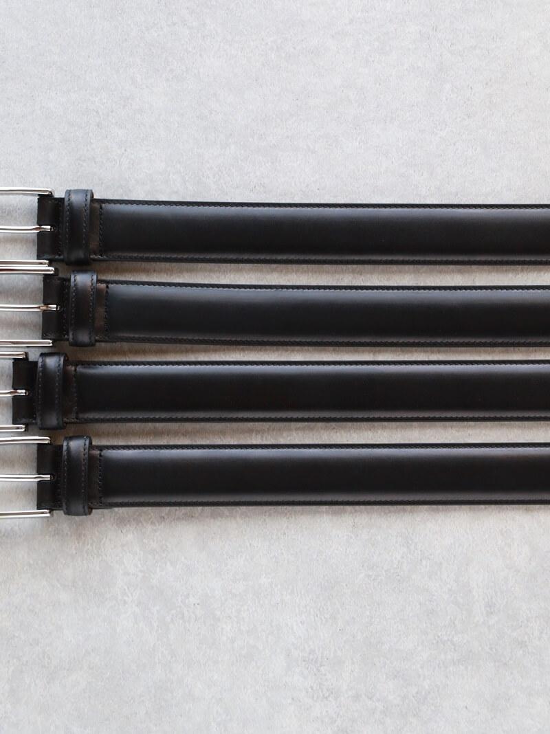 WHEEL ROBE ウィールローブ WEINHEIMER ORIGINAL DRESS BELT 30mm オリジナルドレスベルト BLACK