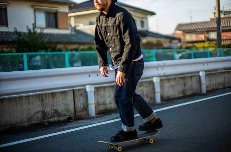 TCB jeans TCBジーンズ S40's Jacket Black & Black 大戦モデル ジャケット ブラックデニム Qurious